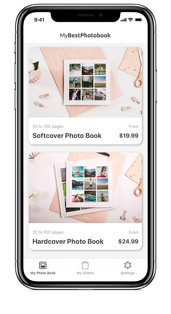 Create photo books within minutes, straight from your phone – MyBestPhotobook